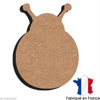 Coccinelle en bois 11,5 cm