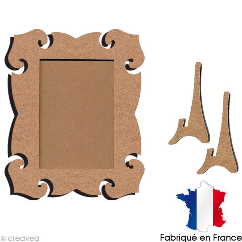 cadre en bois baroque 23 x 18 cm cadre photo d corer creavea. Black Bedroom Furniture Sets. Home Design Ideas