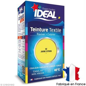 Teinture Tissu Idéal liquide citron 02 mini