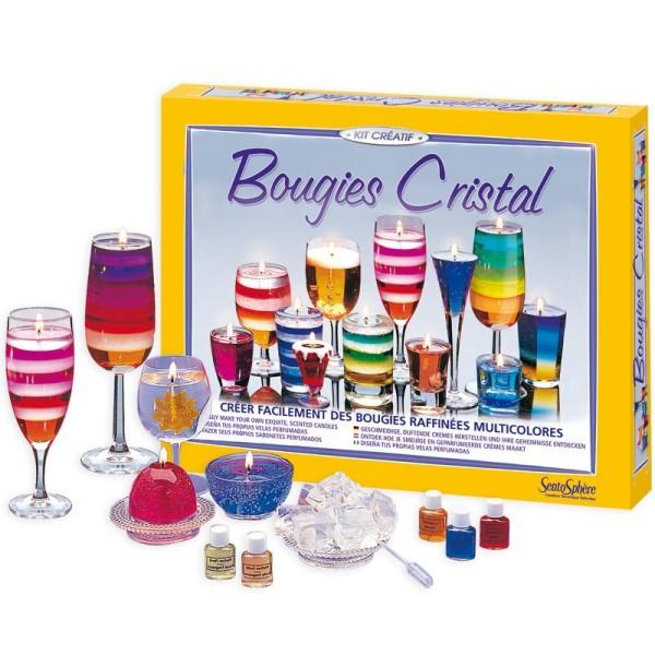 Kit créatif Bougies Cristal - Photo n°1