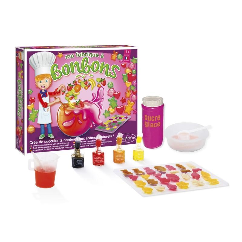 kit cr atif le kiosque bonbons jeux cr atifs de 6 10 ans creavea. Black Bedroom Furniture Sets. Home Design Ideas