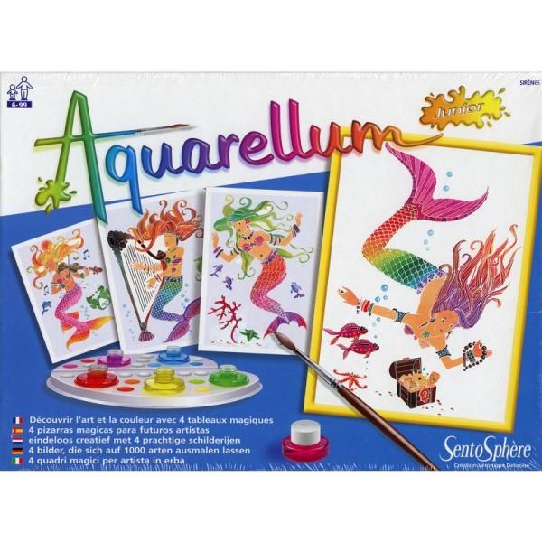 Jeu créatif Aquarellum Junior Sirènes - Photo n°2