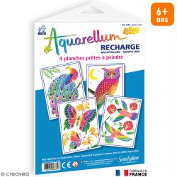 Recharge Aquarellum Junior Dans le parc x 4 dessins