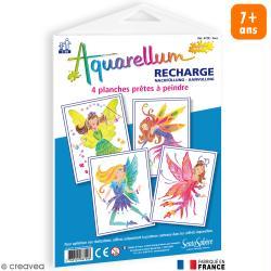 Recharge Aquarellum Junior Fées x 4 dessins