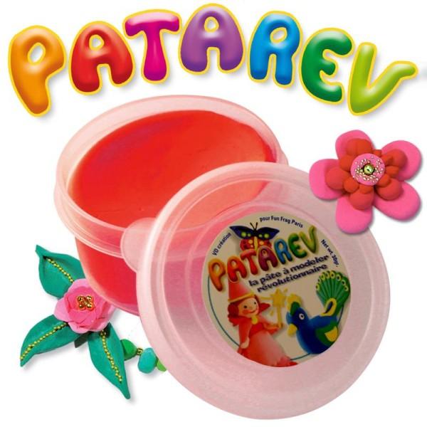 Pâte à modeler Patarev Rouge pot de 30 g - Photo n°1