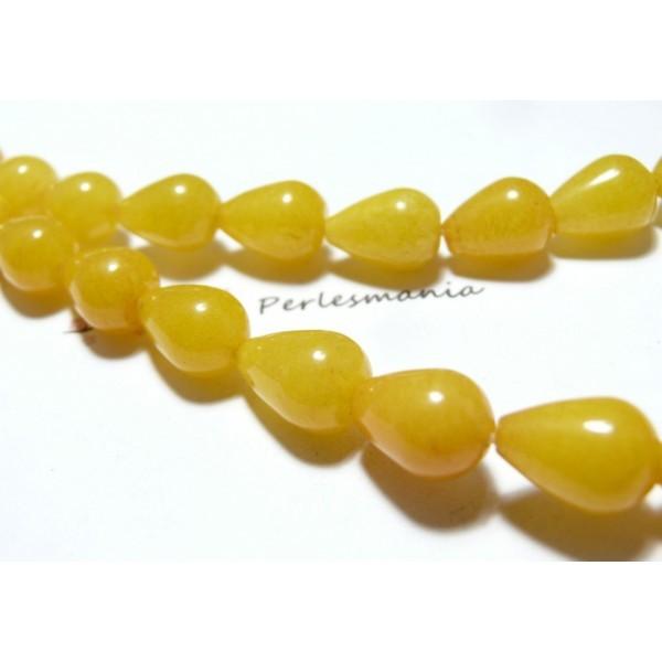 1 Brin Coloré Mashan Jade perles boules fushia 4mm