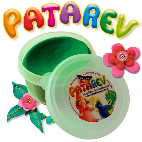 Pâte à modeler Patarev Vert pot de 30 g - Photo n°1