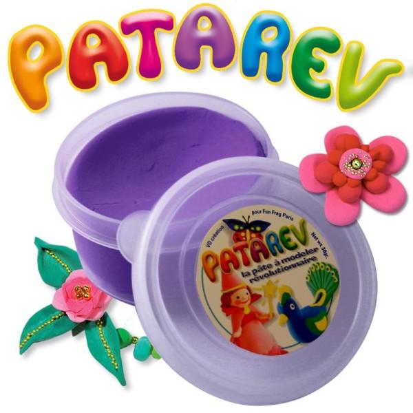 Pâte à modeler Patarev Violet pot de 30 g - Photo n°1