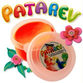 Pâte à modeler Patarev Orange pot de 30 g