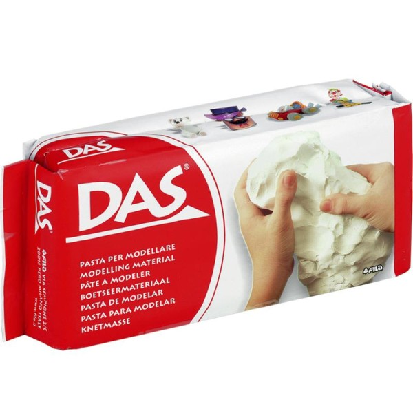 Pate autodurcissante DAS Blanche 500g - Photo n°1
