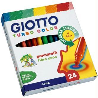 Etui de 24 feutres de coloriage Turbo color GIOTTO