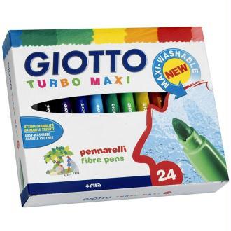 Etui de 24 feutres de coloriage Turbo Maxi GIOTTO