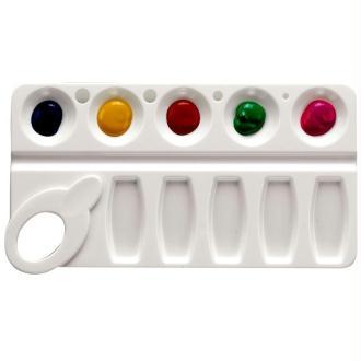 Palette plastique rectangulaire