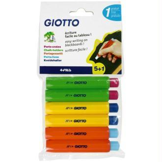 Porte-craies GIOTTO x 5 + 1 gratuit