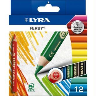 Crayon de couleur FERBY x 12
