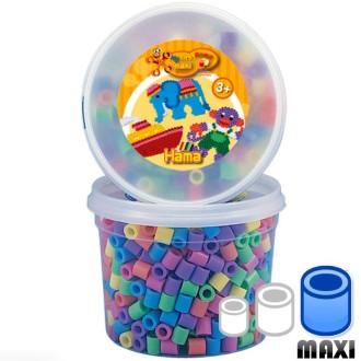 Perles Hama Maxi diam. 1 cm - Pastel x 600