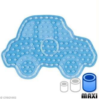 Plaque pour perles Hama Maxi - transparente Voiture