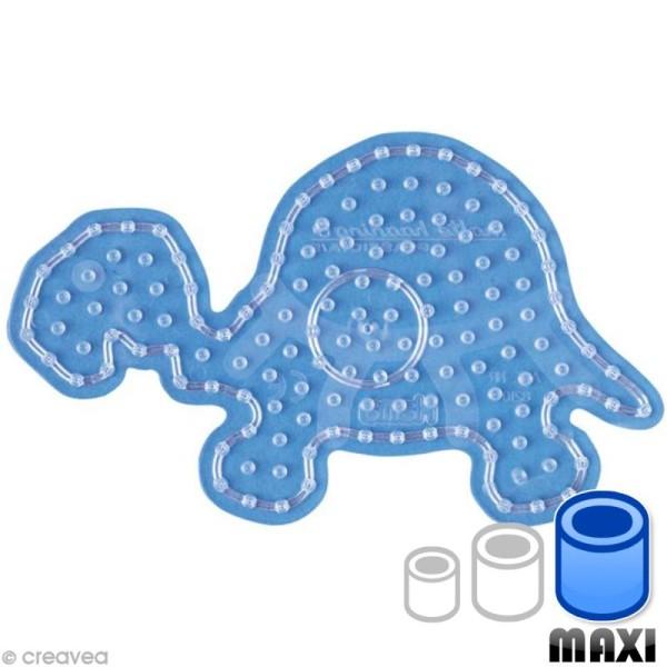 Plaque pour perles Hama Maxi - transparente Tortue - Photo n°1