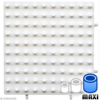 Plaque Maxi Petit carré emboitable pour Perles à repasser Hama Maxi 1 cm