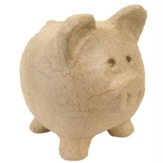 Tirelire cochon 12 cm