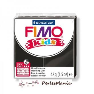 1 PAIN PATE FIMO KIDS NOIR 42gr REF 8030-9