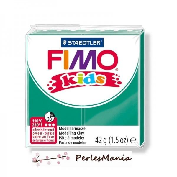 PAIN PATE FIMO KIDS VERT 42gr 8030-5 - Photo n°1