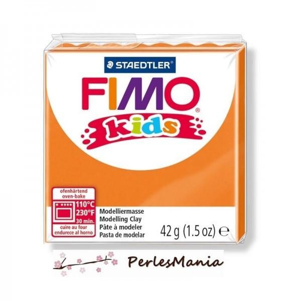 PAIN PATE FIMO KIDS ORANGE 42gr 8030-4 MODELAGE - Photo n°1
