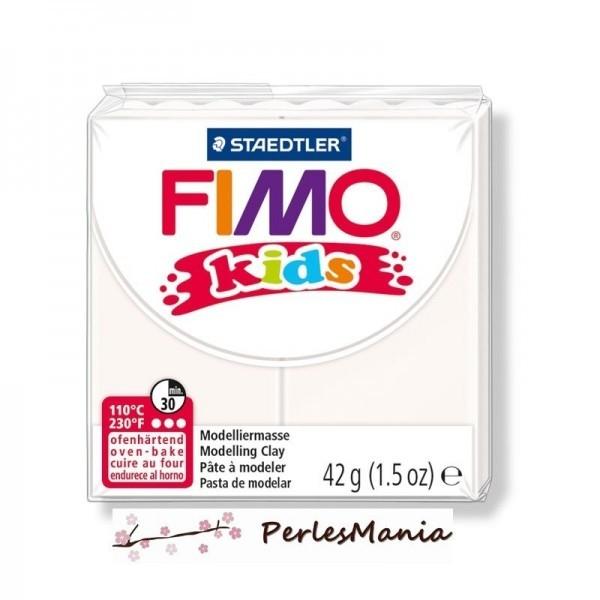 PAIN PATE FIMO KIDS BLANC 42gr 8030-0 MODELAGE - Photo n°1