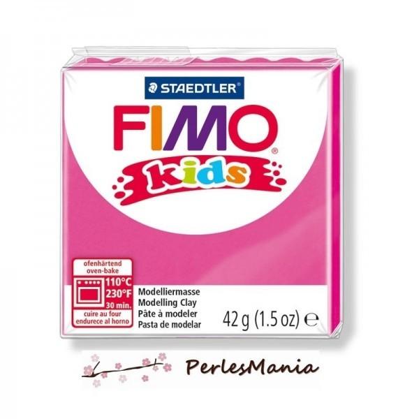 PAIN PATE FIMO KIDS FUCHSIA 42gr 8030-220 MODELAGE - Photo n°1