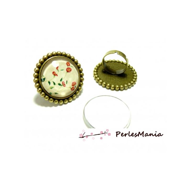 2 pi ces 1 bague arty art deco p3912 qualit 25mm bronze for Journal art et decoration