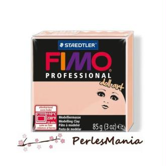 Loisirs créatifs: 1 PAIN PATE FIMO PROFESSIONA DOLL ART ROSE 85gr REF 8027-432