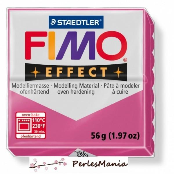 1 pain 56g pate polymère FIMO EFFECT RUBIS QUARTZ 8020-286 - Photo n°1