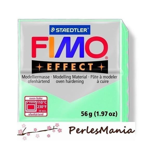 1 pain 56g pate polymère FIMO EFFECT MINT 8020-505 - Photo n°1
