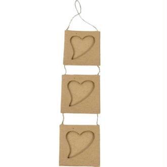 Cadres reliés coeur