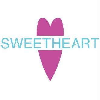 Pochoir Sweetheart 10 x 15 cm