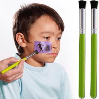 Pinceau pochoir de maquillage x 2