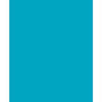 Feutrine 1 mm 23,8 x 30 cm Turquoise