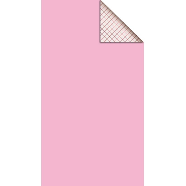 Feutrine adhésive 1 mm Rose dragée 25 x 45 cm - Photo n°1