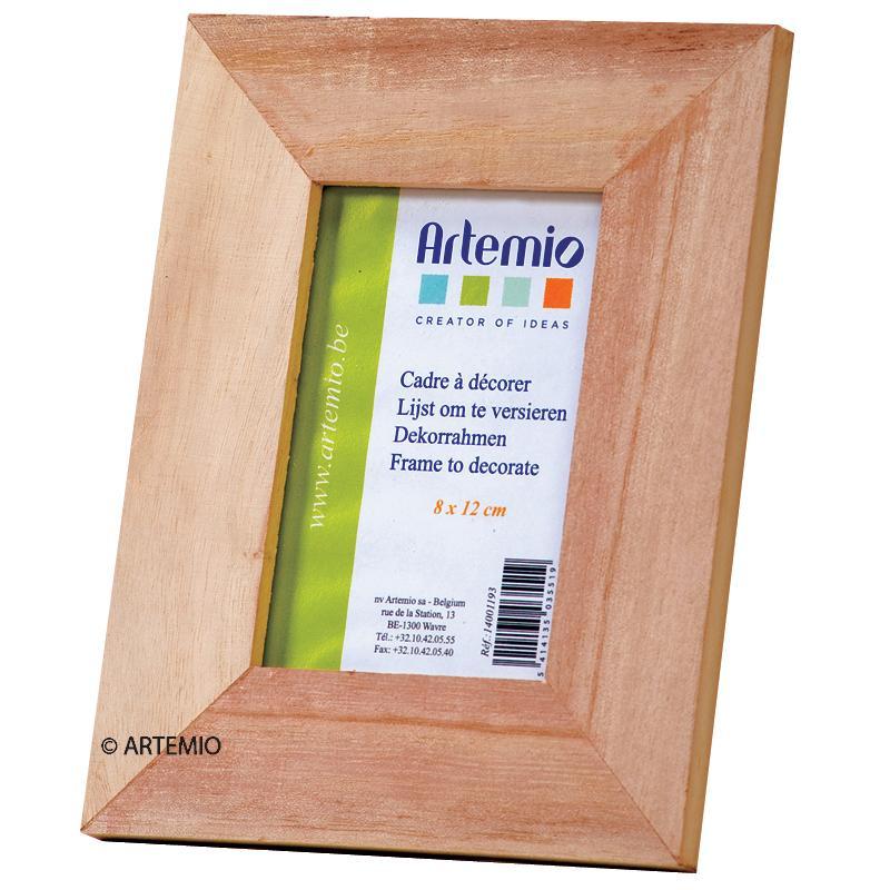 Cadre en bois Rectangle 20 x 16 cm - Photo n°1