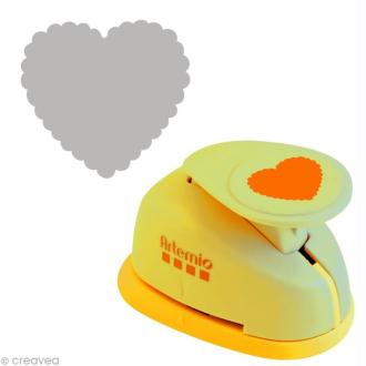 Perforatrice GM coeur ondulé - 3,5 cm