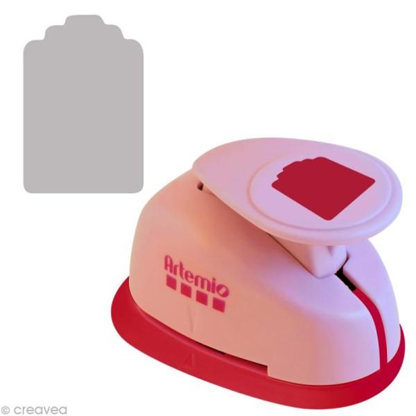 Perforatrice jumbo étiquette - 6,5 cm - Photo n°1
