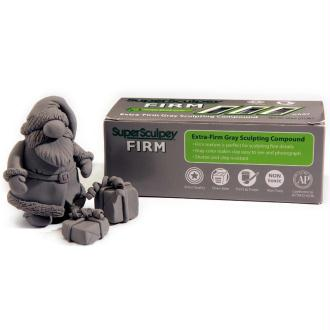 Pate super Sculpey firm ferme Grise 454 gr