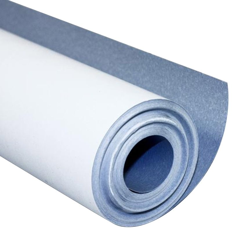 rouleau papier peindre blanc trait anti humidit rouleau de 10 x 0 50 m papier peindre. Black Bedroom Furniture Sets. Home Design Ideas