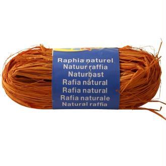 Raphia naturel Orange 50 g