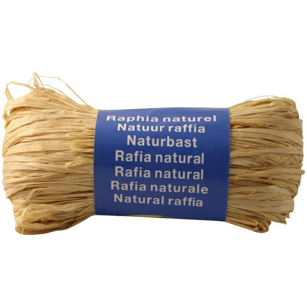 Raphia naturel Naturel 50 g - Photo n°1