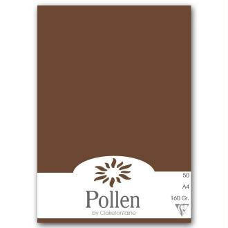 Papier Pollen A4 50 feuilles Chocolat
