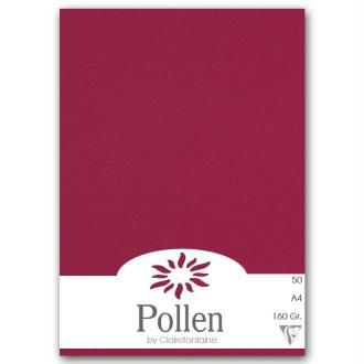 Papier Pollen A4 50 feuilles Framboise