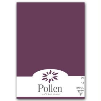 Papier Pollen A4 50 feuilles Cassis