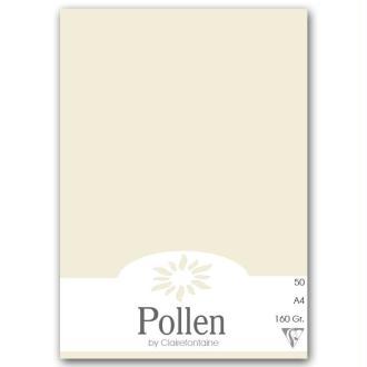 Papier Pollen A4 50 feuilles Gris perle