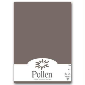 Papier Pollen A4 50 feuilles Gris acier